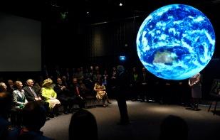 NASA Goddard Queen Visit