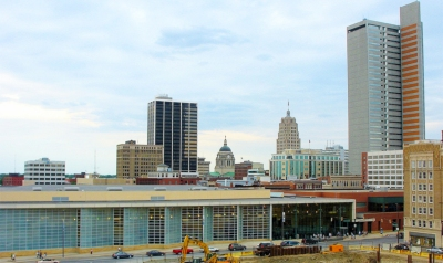 downtown fort wayne skyline
